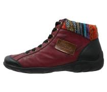 Sneaker high black/wine/multicolor