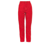 MOM Jeans Tapered Fit red