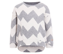 Sweatshirt grau/beige