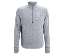 ELEMENT SPHERE Langarmshirt cool grey/heather/wolf grey