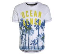 PALM OCEAN - T-Shirt print - bright white