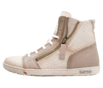 JOMAR Sneaker high rafia/capucino