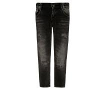 COOPER Jeans Slim Fit licorice black wash