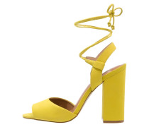 SERRINA High Heel Sandaletten yellow