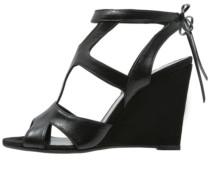 SAZA High Heel Sandaletten nero