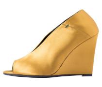 SOFIA - High Heel Peeptoe - mustard