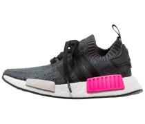 NMD_R1 PK - Sneaker low - core black/shock pink