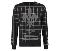 Sweatshirt black/multi
