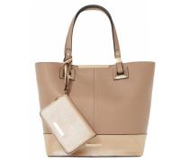 DENISHA Shopping Bag taupe