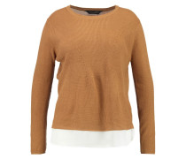 Strickpullover light brown