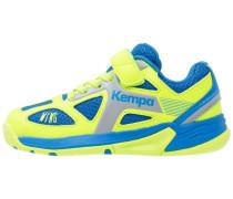 WING - Handballschuh - ash blue/spring yellow