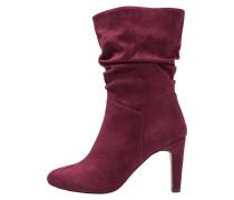 High Heel Stiefel - dark red