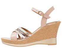 High Heel Sandaletten ivory