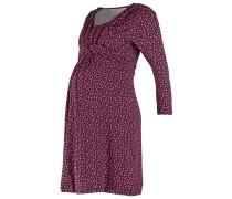 Jerseykleid pink/black