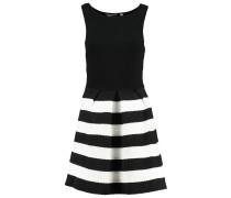 KEMERE Jerseykleid noir/ecru