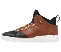 Sneaker high brown/black