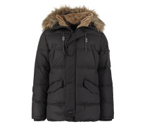 SNORK Wintermantel charcoal