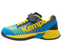 ATTACK Handballschuh blau/marine/gelb