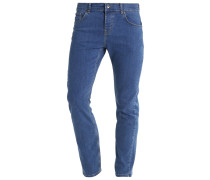 Jeans Straight Leg mid blue denim