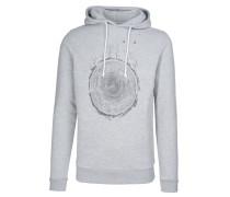 LEON SMALL WORLD Sweatshirt grey melange