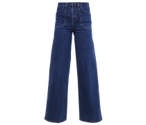 BISSET Flared Jeans 90´s mid stone