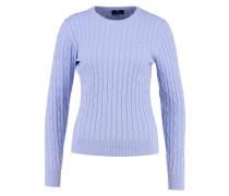 Strickpullover lavender blue