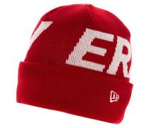 Mütze - red