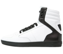Sneaker high bianco/black