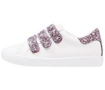 Sneaker low white/pink
