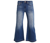 TRINA Flared Jeans denim blue