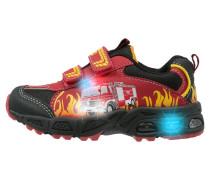 HOT Sneaker low rot/schwarz/gelb