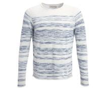 Strickpullover offwhite/light blue