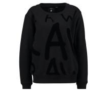 GStar VALINCE BF R ZIP SW L/S Sweatshirt black