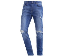 Jeans Straight Leg - mid indigo
