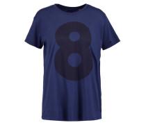 THE L8 BOY TShirt print navy blazer wash
