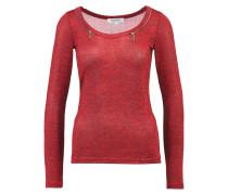 TIBUS Strickpullover red