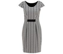 Strickkleid grey/black