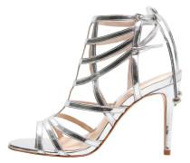 AZI High Heel Sandaletten argent