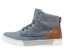 Sneaker high blue/brown