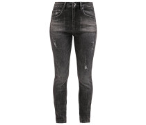 GStar 3301 HIGH SKINNY Jeans Slim Fit towi black stretch denim