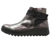HALP Ankle Boot anthrazit silver/black