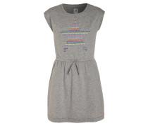Jerseykleid light heather grey