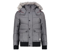 Winterjacke - somber grey