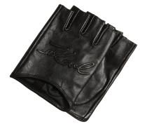 Kurzfingerhandschuh black