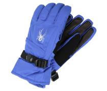 Fingerhandschuh blue/silver