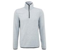 Fleecepullover mottled grey
