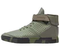 HAMACHI Sneaker high army green/black