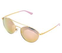 Sonnenbrille pink