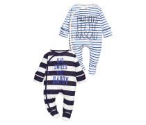 2 PACK Pyjama blue