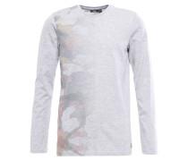 Langarmshirt sky grey heather